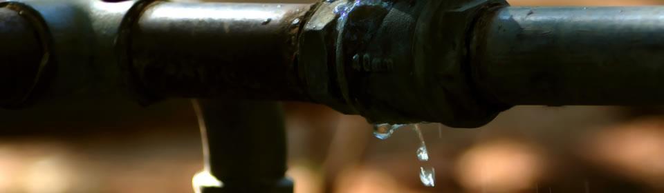 lekkende waterleiding